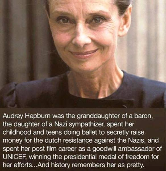 Audrey Hepburn - not just another beautiful actress.