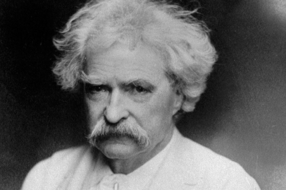Samuel Langhorne Clemens (November 30, 1835 – April 21, 1910), better known by his pen name Mark Twain - American author, humorist and bad shot.