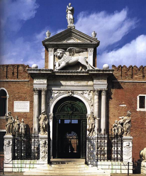 Arsenale Gateway 1457-60 Photo Arsenale, Venice