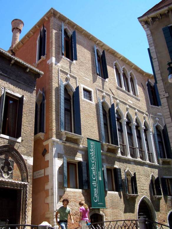Palazzo Centani: Façade 15th century Photo San Polo, Venice