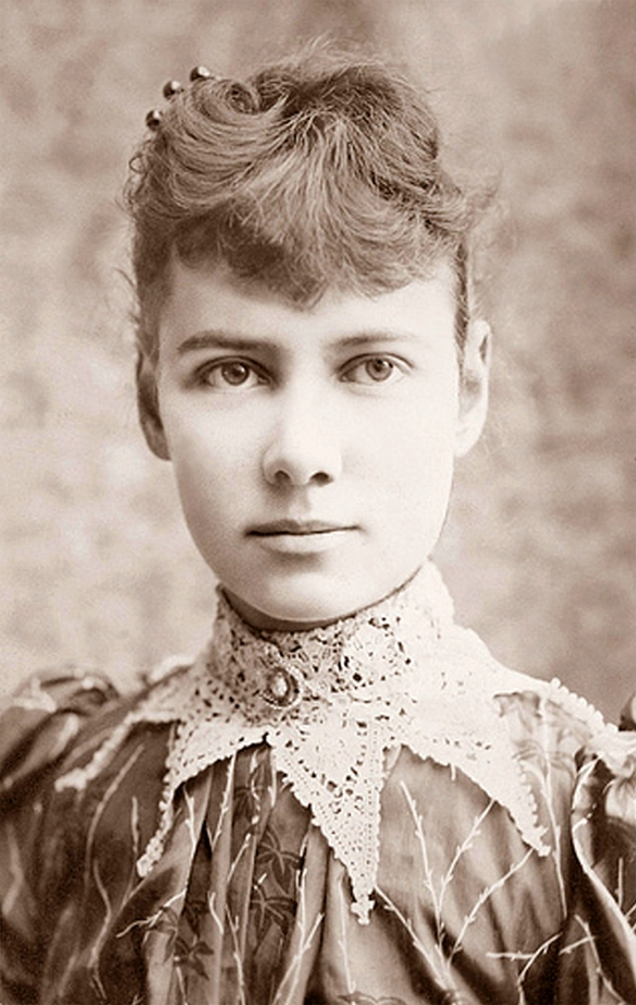 "Elizabeth Cochrane, ""Nellie Bly"", 1890"