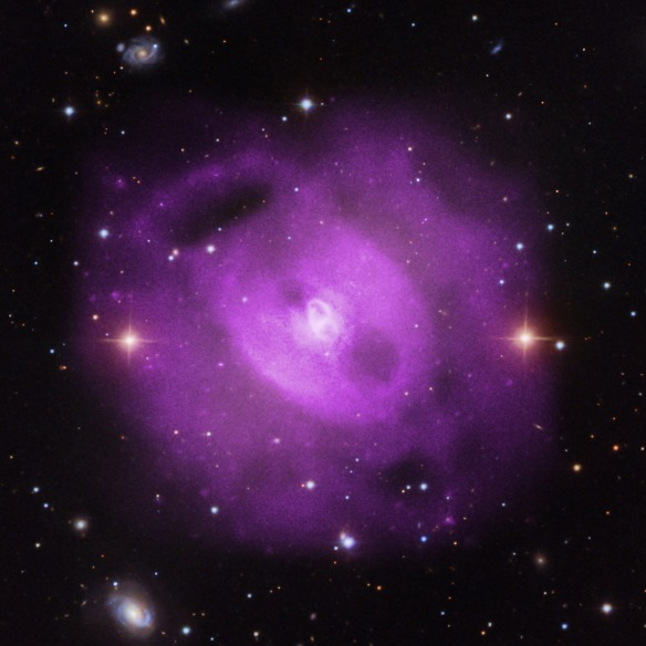 NGC5813 courtesy of NASA's Chandra X-ray Observatory, NASA's Marshall Center  Credit: X-ray: NASA/CXC/SAO/S, Radall. Optical: SDSS