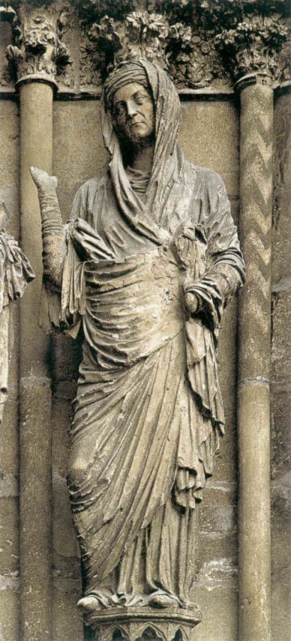 St Elizabeth 1211-25 Stone Cathedral, Reims